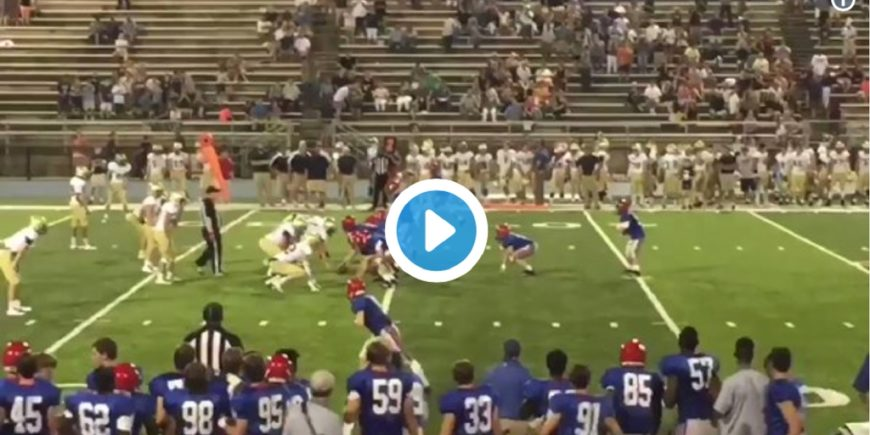 Football Player with Down Syndrome Goes Viral After Epic Touchdown