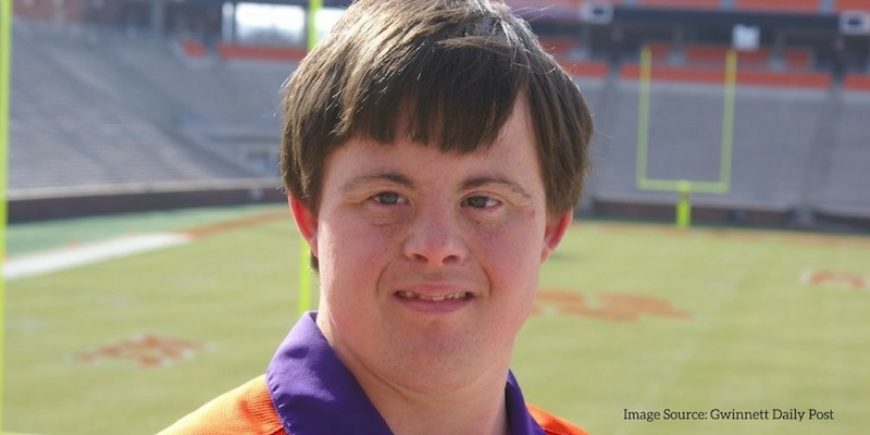 Part of the team: David Saville brings joy to Clemson football