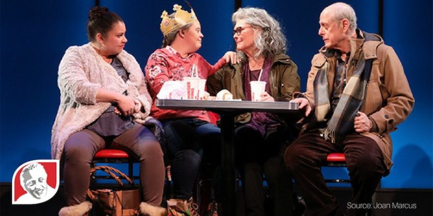 Actress with Down syndrome plays lead role in off-Broadway show