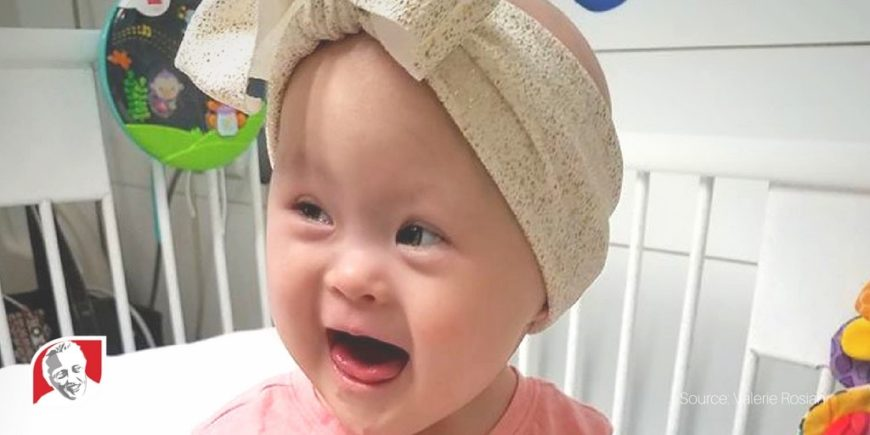 Toddler with Down syndrome beats cancer– twice