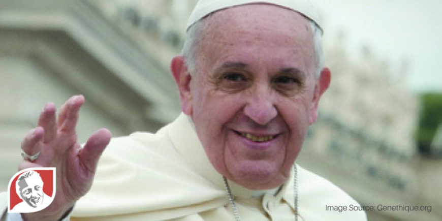 Pope Francis speaks out against selective abortion