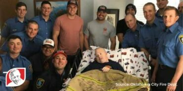 Oklahoma City firefighters surprise man with Down syndrome