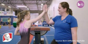 World champion gymnast doesn't let Down syndrome slow her down
