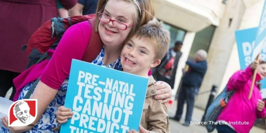 Heidi Crowter continues to fight for the unborn with Down syndrome
